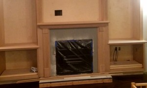 Custom Fireplace Woodwork