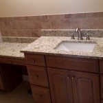 Master Bath Sink Tile Work